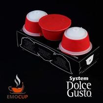 Emocup Cafetrera Dolce Gusto Cafe Espresso Nescafe 3 Piezas