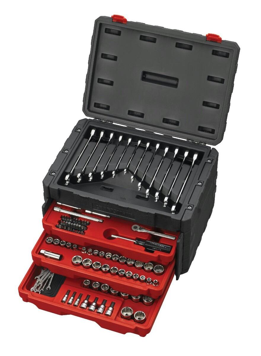 Caja de herramientas craftsman 262 piezas llaves de rach - Caja de herramientas precio ...