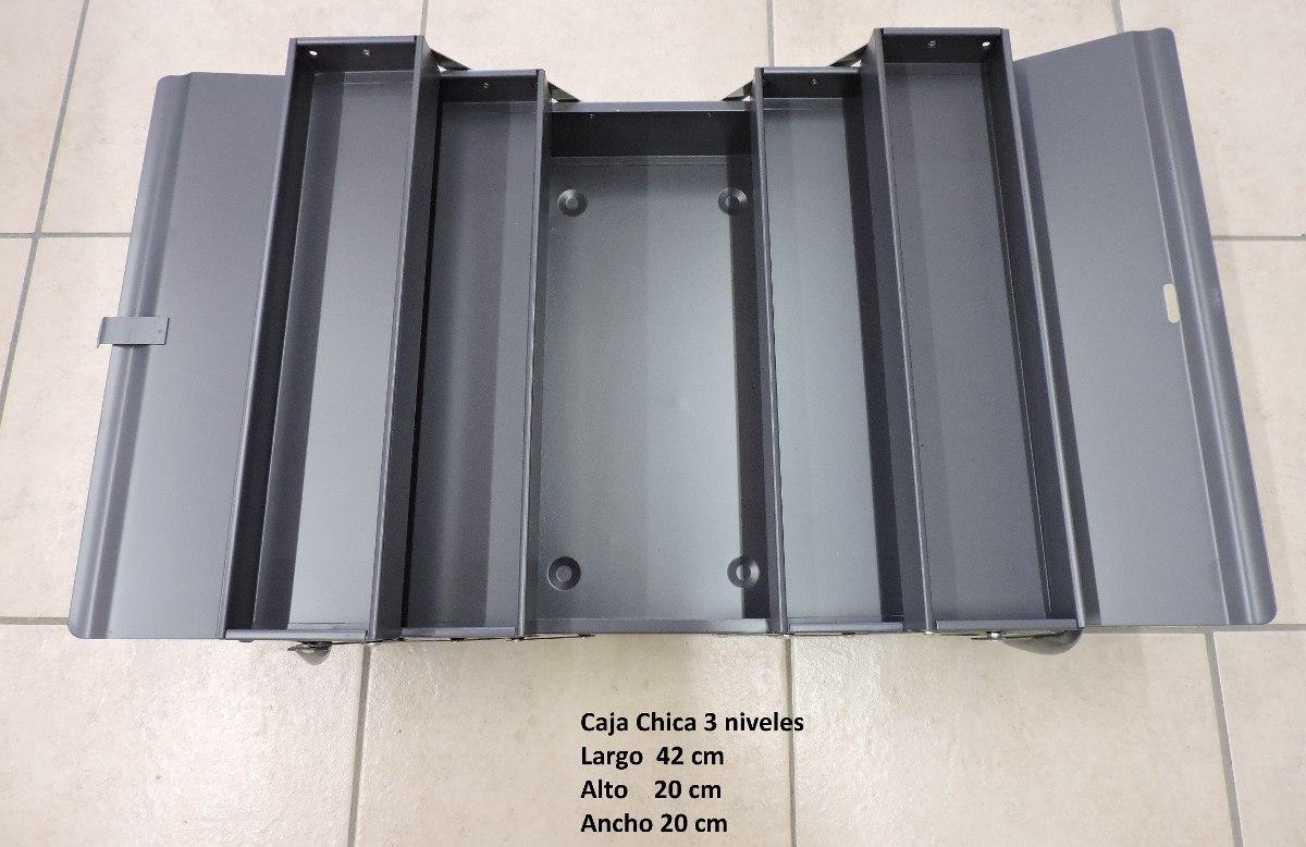 Caja de herramientas met lica de 3 niveles 18 pulgadas - Caja de herramientas metalica ...
