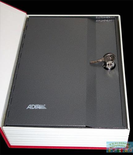 Caja Fuerte De Seguridad Camuflada Libro, Interior Acero Rym