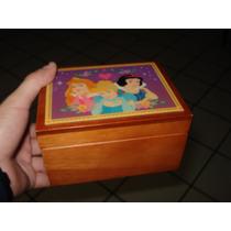 Joyero Princesas Disney Blanca Nieves Cenicienta Bella