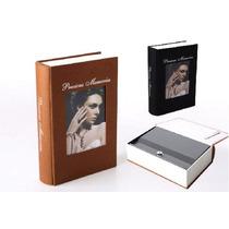 Caja Fuerte Camuflaje De Libro Con Porta Fotos