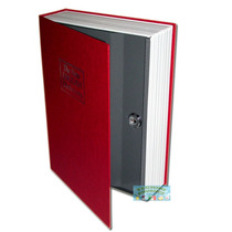 Caja Fuerte De Seguridad Camuflada Libro, Interior Acero Lbf