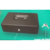 Caja De Seguridad Para Dinero Metalica Con Cerradura