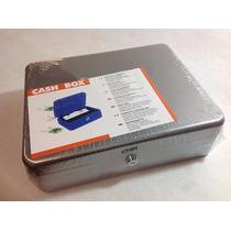 Caja Metal Dinero C/charola 25 Cm