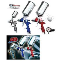 Juego O Kit De 3 Pistolas De Gravedad Para Pintar Atd-6900