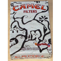 Burbula. Caja Para Cajetilla De Camel. Edición Limitada