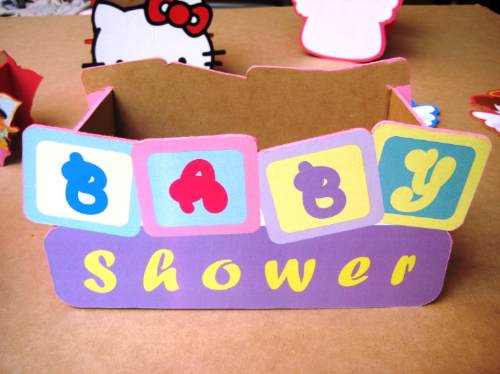 Como hacer una cuna para centro de mesa imagui for Mesa baby shower nino