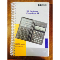 Hp-19bii Business Consultant Ii Manual Propietario Ingles