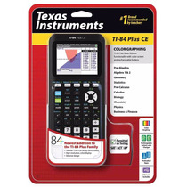 Calculadora Grafica Texas Instruments - Ti 84 + Ce Plus Ce