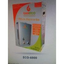 Calentador Instantáneo Gaxeco Eco 6000 Lp