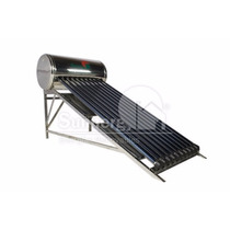 Calentador Solar Acero Inoxidable 130lts 10 Tubos