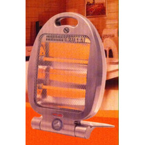 Calentador Cuarzo Portatil Asa Electrico 3 Nivel 800w E4f