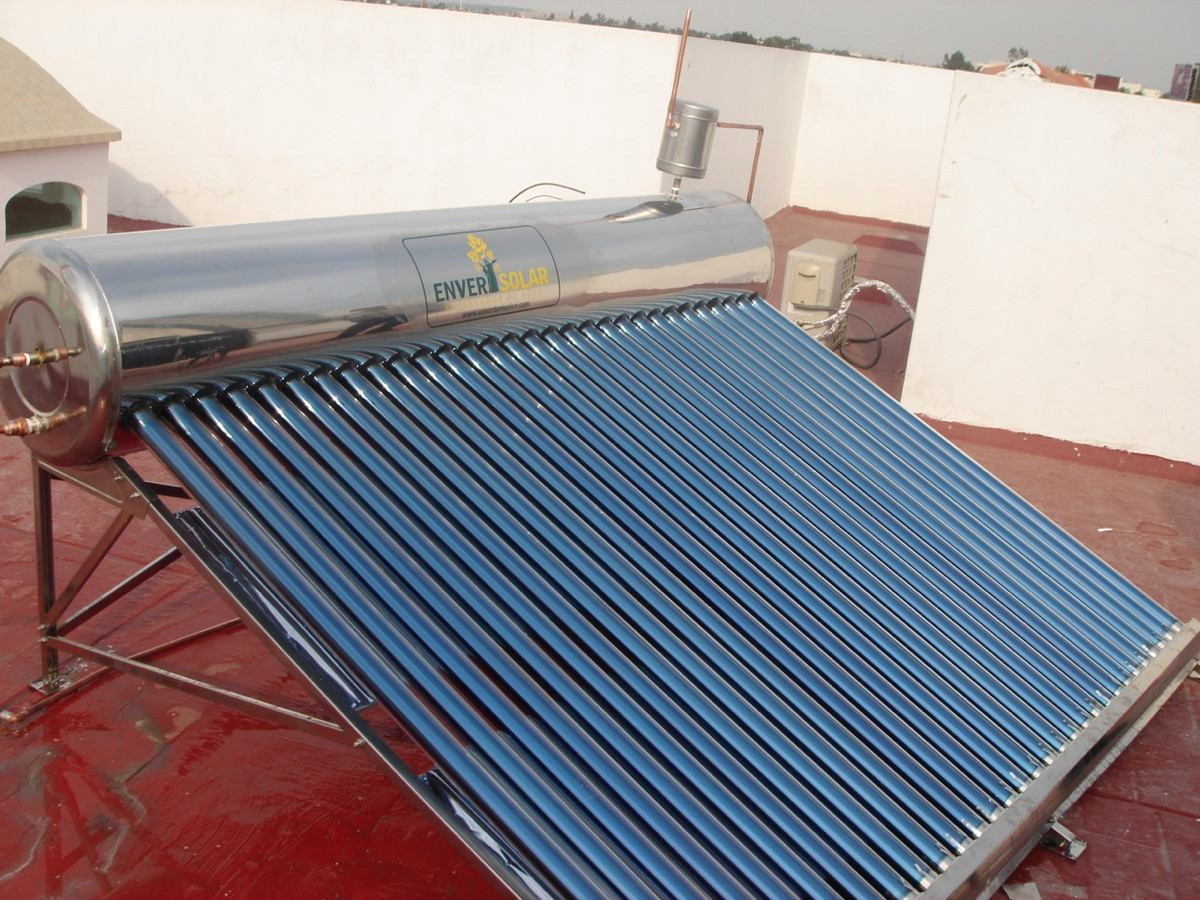Calentador solar enver agua caliente gratis ahorra gas - Agua caliente solar ...