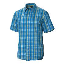 Camisa Marmot Byron Plaid Ss Talla S, M, G, Ex Grande