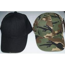 Gorra Militar Tactica Fuerzas Armadas Negra Verde Camuflaje