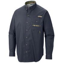 Camisa Outdoor Para Hombre Columbia Phg Pesca Montaña Caza