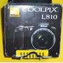 Cámara Nikon Coolpix Semi Profesional L810 Con Estuche