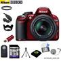 Camara Nikon D3100 + 18-55mm + 11 Accesorios