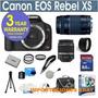 Canon Eos Xs 1000d + 3 Lentes Camara Digital