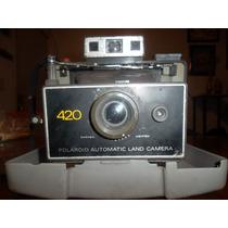Cámara Antigua Polaroid Modelo 420 Coleccionistas