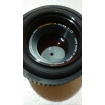 Lente Camara Minolta Md Rokkor-x 50mm 1:1.7