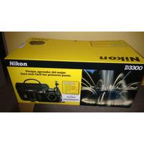 Camara Nikon D 3300 24 Mp+maletin+tripie+wifi+16gb+lente