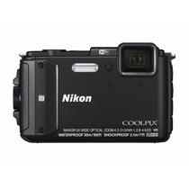 Camara Nikon Coolpix Aw130 16mpx Wifi A Prueba De Agua