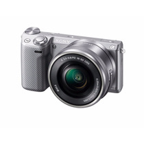 Sony Nex-5tl/s 16-50mm Power Zoom Lens Color Plata