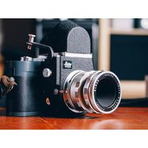 Camara Leica Mda Con Visorflex Y Lente Elmar 65mm
