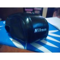 Estuche Para Camara Nikon En Piel
