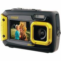 Duo2 2v9wp-o 20 Mp Waterproof Digital Camera Color Amarilla