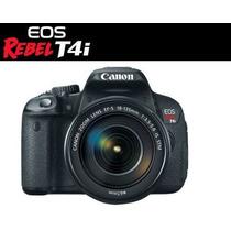 Canon® T4i 650d Lente 18-135mm + 16 Gb Full Hd 1080