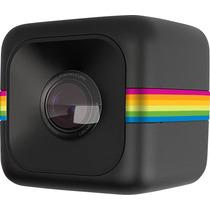 Polaroid Camara De Accion Cube Negra