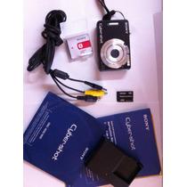 Camara Sony Cybershot 7.2 Mp, Con Todos Los Accesorios