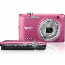 Cámara Digital Nikon Coolpix S2800 Rosa 20.1 Mp Hd