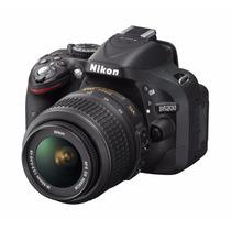 Camara Nikon D5200 24.1 Mp Kit Con 18-55mm F/3.5-5.6g Vr Dx
