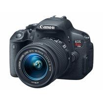 Camara Canon Eos Rebel T5i Kit Con Lente 18-55mm 18mp Nueva