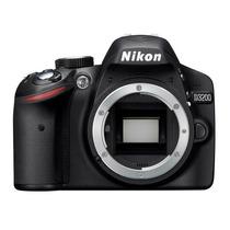 Cámara Nikon D3200 24mp Slr Lente 18-55, Wi-fi Maleta Regalo
