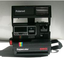 Camara Fotografica Polaroid Supercolor 635cl, Seminueva