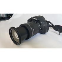 Cámara Canon Eos 600d Usada Perfecto Estado 100% Funcional