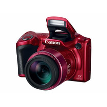 Camara Digital Canon Powershot Sx410 Is 20 Mp Zoom 40x Roja