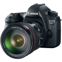 Canon 6d Kit 24-70 Mm 20mp Full Frame