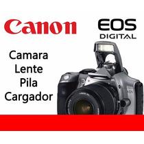 Remate Canon Reflex Canon Eos Rebel 300d Lente