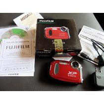 Cámara Digital Fujifilm A Prueba De Agua.