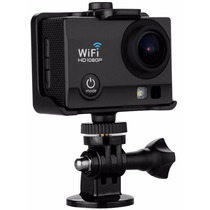 Camara Accion Deportiva Sumergible Flash Wifi Full Hd 12mp