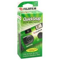 Fujifilm Quicksnap Flash 400 Desechable Cámara De 35mm