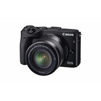 Cámara Canon Eos M3 Con Lente 18-55 Mm, Envío Gratis!