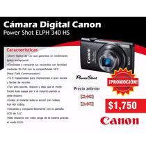 Cámara Canon Power Shot Help 340 16 Mg