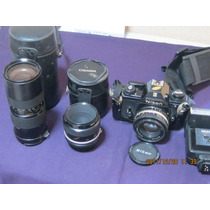 Equipo Nikon Reflex Analogo Op4